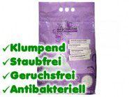 Catz Finelitter Katzenstreu: Klumpstreu 8 Liter mit Zeolith