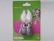 Spielmäuse mit Rassel und Katzenminze (4 Stk.)