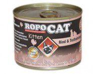 RopoCat Feinstes Fleisch für Kitten 200g Dose