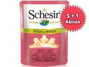 5+1 AKTION: Schesir in Brühe 70g Frischebeutel