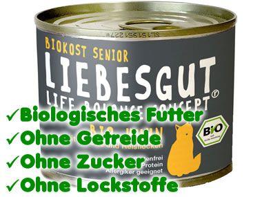 Liebesgut Biokost Senior 200g Dose
