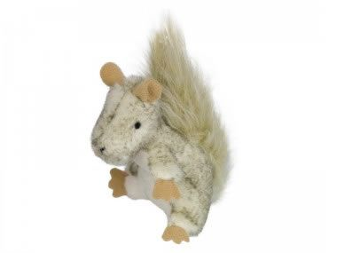 Plüscheichhörnchen mit Katzenminze 9cm von Nobby