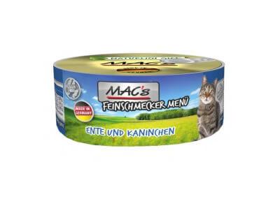 MACs Feinschmecker Menü 100g Dose, 7 Sorten je 1x