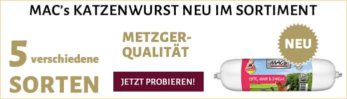 MACs Katzenwurst neu im Sortiment